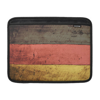 Old Wooden Germany Flag Sleeve For MacBook Air