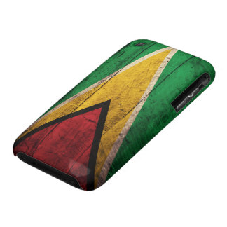 Old Wooden Guyana Flag Case-Mate iPhone 3 Case