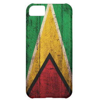 Old Wooden Guyana Flag iPhone 5C Cover