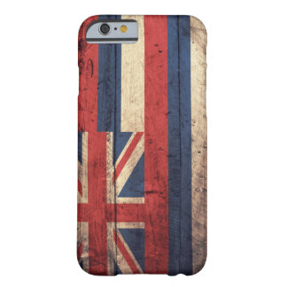 Old Wooden Hawaii Flag; iPhone 6 Case