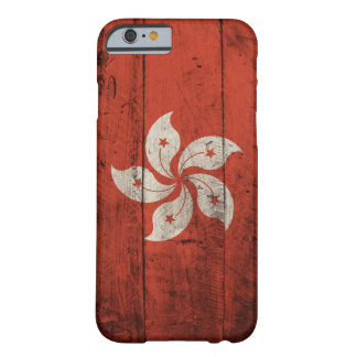 Old Wooden Hong Kong Flag iPhone 6 Case