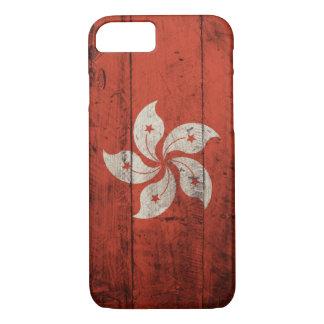 Old Wooden Hong Kong Flag iPhone 8/7 Case