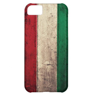 Old Wooden Hungary Flag Case For iPhone 5C