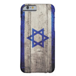 Old Wooden Israel Flag iPhone 6 Case