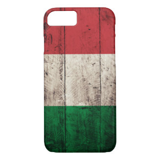Old Wooden Italy Flag iPhone 7 Case