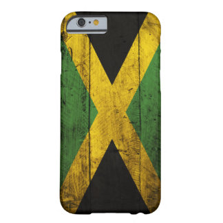 Old Wooden Jamaica Flag Barely There iPhone 6 Case