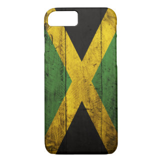 Old Wooden Jamaica Flag iPhone 8/7 Case