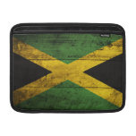 Old Wooden Jamaica Flag Sleeves For MacBook Air