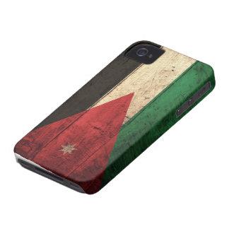 Old Wooden Jordan Flag iPhone 4 Cover