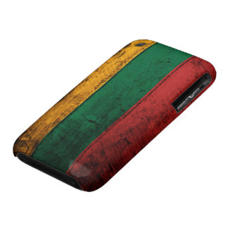 Old Wooden Lithuania Flag iPhone 3 Covers