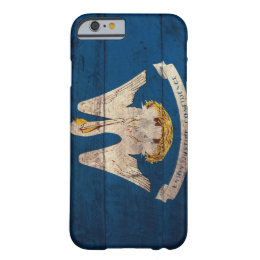 Old Wooden Louisiana Flag; Barely There iPhone 6 Case