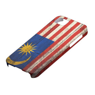 Old Wooden Malaysia Flag iPhone 5 Covers