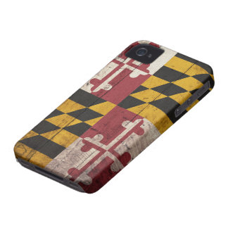 Old Wooden Maryland Flag Blackberry Bold Cover