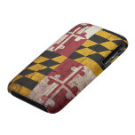 Old Wooden Maryland Flag iPhone 3 Case