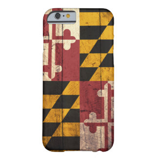 Old Wooden Maryland Flag iPhone 6 case iPhone 6 Case
