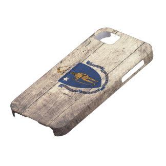 Old Wooden Massachusetts Flag; iPhone SE/5/5s Case