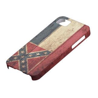 Old Wooden Mississippi Flag; iPhone SE/5/5s Case