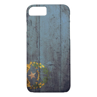 Old Wooden Nevada Flag; iPhone 8/7 Case