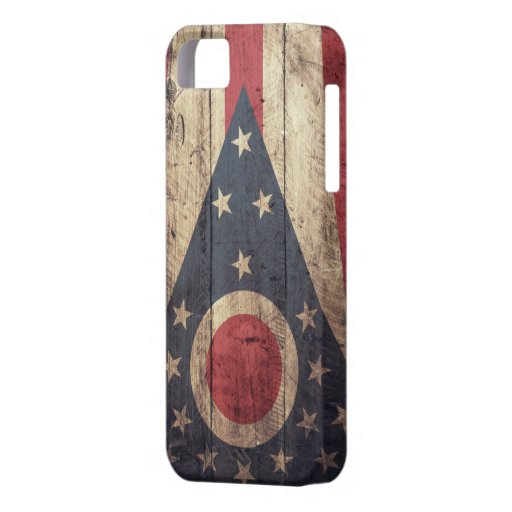 Old Wooden Ohio Flag iPhone 5 Case