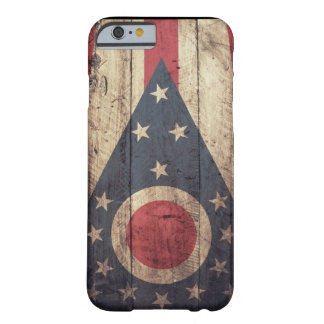 Old Wooden Ohio Flag iPhone 6 case