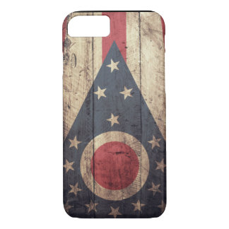 Old Wooden Ohio Flag iPhone 7 case