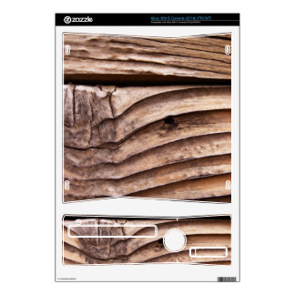 Old Wooden Planks Rough Knotty Brown Texture Decals For Xbox 360 S