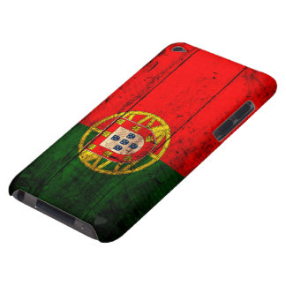 Old Wooden Portugal Flag iPod Touch Case-Mate Case