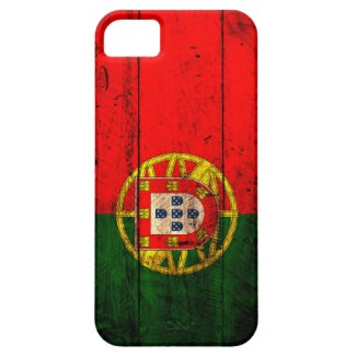 Old Wooden Portugal Flag iPhone 5 Case