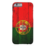 Old Wooden Portugal Flag iPhone 6 Case