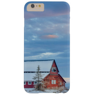 Old Wooden Red Barn In The Lower Valley Barely There iPhone 6 Plus Case