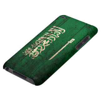 Old Wooden Saudi Flag iPod Touch Case-Mate Case