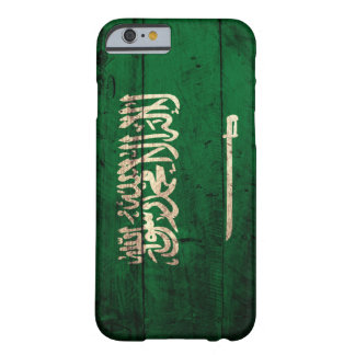 Old Wooden Saudi Flag iPhone 6 Case