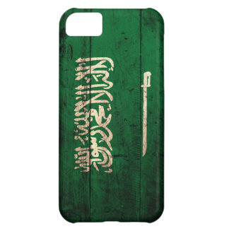 Old Wooden Saudi Flag iPhone 5C Case