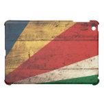 Old Wooden Seychelles Flag iPad Mini Case