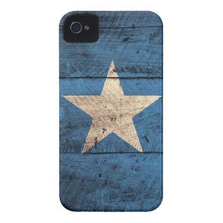 Old Wooden Somalia Flag Case-Mate iPhone 4 Case