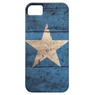 Old Wooden Somalia Flag iPhone SE/5/5s Case