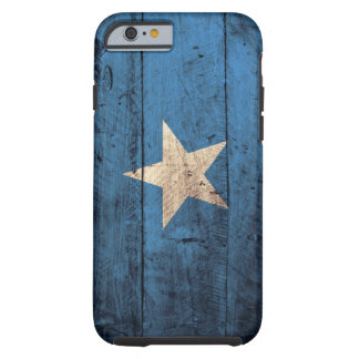 Old Wooden Somalia Flag Tough iPhone 6 Case
