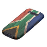 Old Wooden South Africa Flag Samsung Galaxy S3 Case
