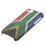 Old Wooden South Africa Flag iPhone 5C Cases