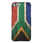 Old Wooden South Africa Flag iPhone 6 Case