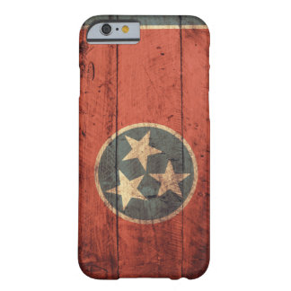Old Wooden Tennessee Flag Barely There iPhone 6 Case