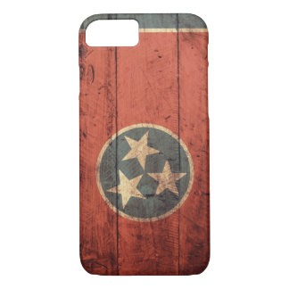 Old Wooden Tennessee Flag iPhone 7 case