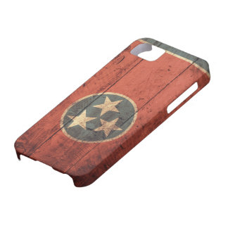 Old Wooden Tennessee Flag iPhone SE/5/5s Case