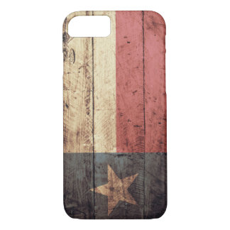 Old Wooden Texas Flag; iPhone 7 Case
