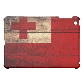 Old Wooden Tonga Flag iPad Mini Cover