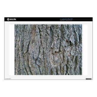 "Old Wooden Tree Bart 17"" Laptop Skin"