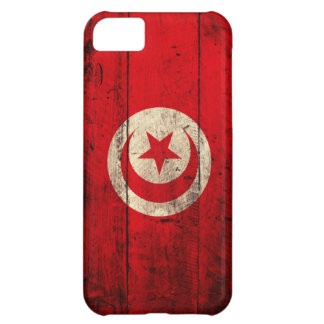 Old Wooden Tunisia Flag iPhone 5C Cover