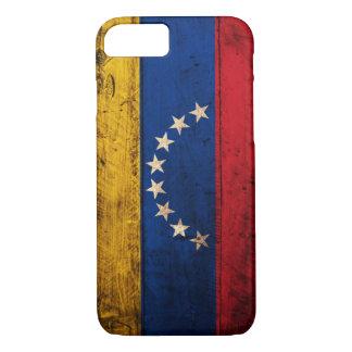 Old Wooden Venezuela Flag iPhone 7 Case