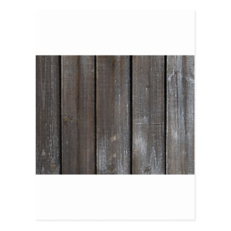 Old Wooden Wall Background Postcard