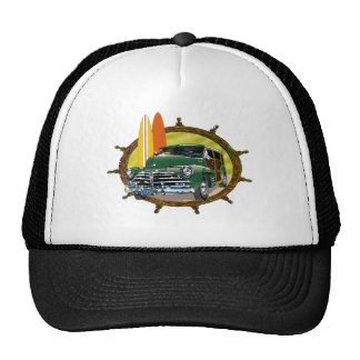 Old Woody Classic Car Mesh Hats